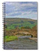 Bridge Over Duerley Beck - P4a16020 Spiral Notebook