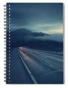 Bridge Over Lake Sylvenstein Spiral Notebook