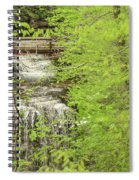 Bridge Over Little Clifty Falls Spiral Notebook