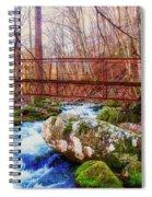 Bridge Over Mill Creek Spiral Notebook