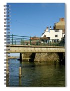 Bridge Over Staithes Beck Spiral Notebook
