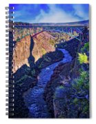 Bridge Over The Crooked River Gorge Spiral Notebook