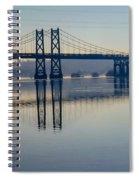 Bridge Over The Mississippi Spiral Notebook
