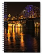 Bridge Over The Ohio Spiral Notebook