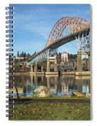 Bridge Over The River Spiral Notebook