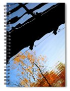 Bridge Over The River Sky Spiral Notebook