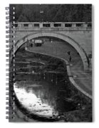 Bridge Over The Tiber Spiral Notebook