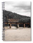 Bridge Over The Winooski Spiral Notebook