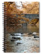 Bridge Over The Wissahickon At Valley Green Spiral Notebook