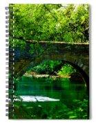 Bridge Over The Wissahickon Spiral Notebook