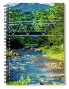 Bridge Over Tropical Dreams Spiral Notebook
