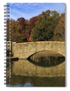 Bridge Reflection Spiral Notebook