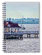 Bridge Street Pier Spiral Notebook