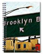 Bridge Thisaway Sketch Spiral Notebook
