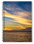 Bridge Through The Sky Spiral Notebook