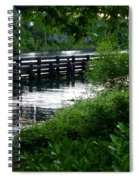 Bridge Through The Trees Spiral Notebook