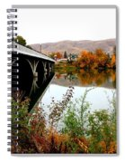 Bridge To Downtown Prosser Spiral Notebook