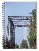 Bridge To God Spiral Notebook