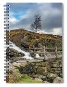 Bridge To Idwal Lake Spiral Notebook