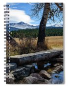 Bridge To Long's Peak Spiral Notebook