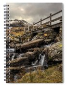 Bridge To Moutains Spiral Notebook