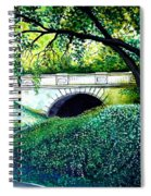 Bridge To New York Spiral Notebook