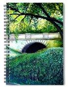 Bridge To New York Spiral Notebook
