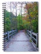 Bridge To Paradise - Wissahickon Valley Spiral Notebook