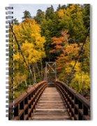 Bridge To Rainbow Falls Spiral Notebook