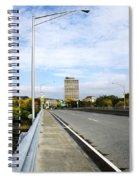 Bridge To The City Binghamton New York Spiral Notebook
