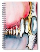 Bridge To The Land Of Hairy Knuckles Spiral Notebook