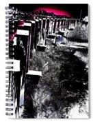 Bridge To Unknown Spiral Notebook