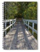 Bridge To Woods 1 Spiral Notebook