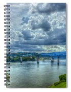 Bridges Of Chattanooga Tennessee Spiral Notebook