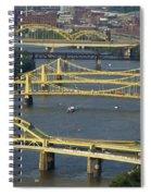 Bridges Of Pittsburgh Spiral Notebook