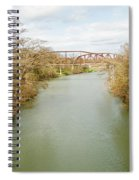 Bridges Over The Guadalupe Spiral Notebook