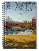 Bridgeton Mill Covered Bridge Spiral Notebook
