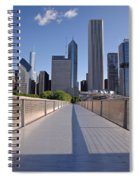 Bridgeway To Chicago Spiral Notebook