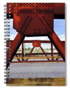 Bridging The Gap Spiral Notebook