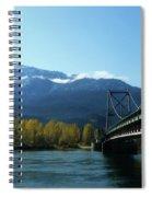 Bridging The Seasons Spiral Notebook
