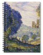 Bridlington Priory From Woldgate On The Hockney Trail Spiral Notebook