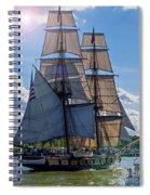 Brig Niagara Iv Spiral Notebook