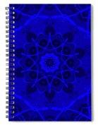 Brigadoon No. 1 Neon Blue Spiral Notebook