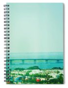 Brigantine Bridge - New Jersey Spiral Notebook