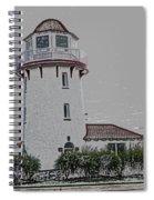 Brigantine Lighthouse Spiral Notebook