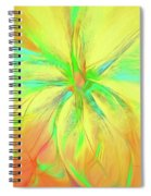 Bright And Sunny Spiral Notebook