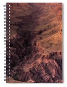 Bright Angel Canyon Grand Canyon National Park Spiral Notebook