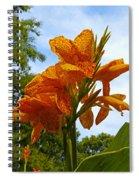 Bright Bloom Spiral Notebook