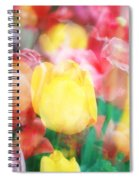 Bright Dreams In The Tulips Spiral Notebook