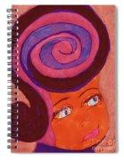Bright Eyed Beauty Spiral Notebook